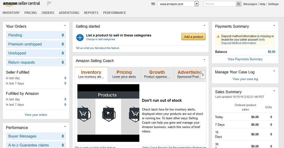 14 pași prin care îți faci cont de vânzător pe Amazon.com (cu screenshot-uri)