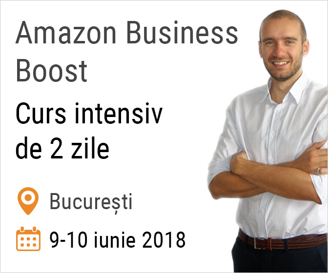 Curs intensiv Amazon Business Boost