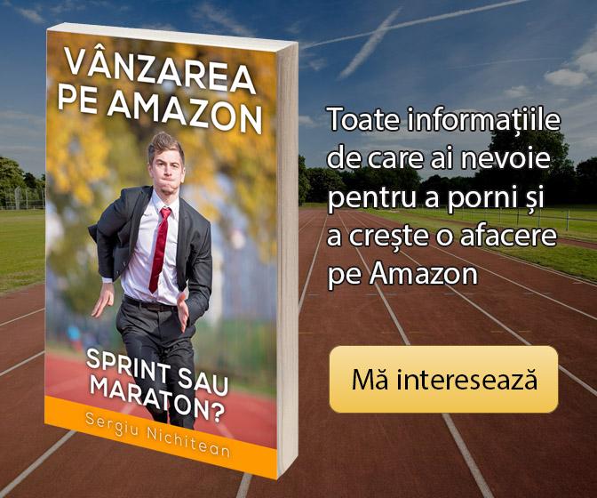 Cartea in format electronic Vanzarea pe Amazon - Sprint sau Maraton