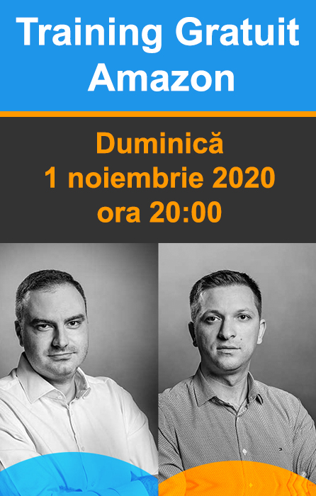 Training Gratuit Amazon - Duminica, 1 noiembrie 2020, ora 20:00